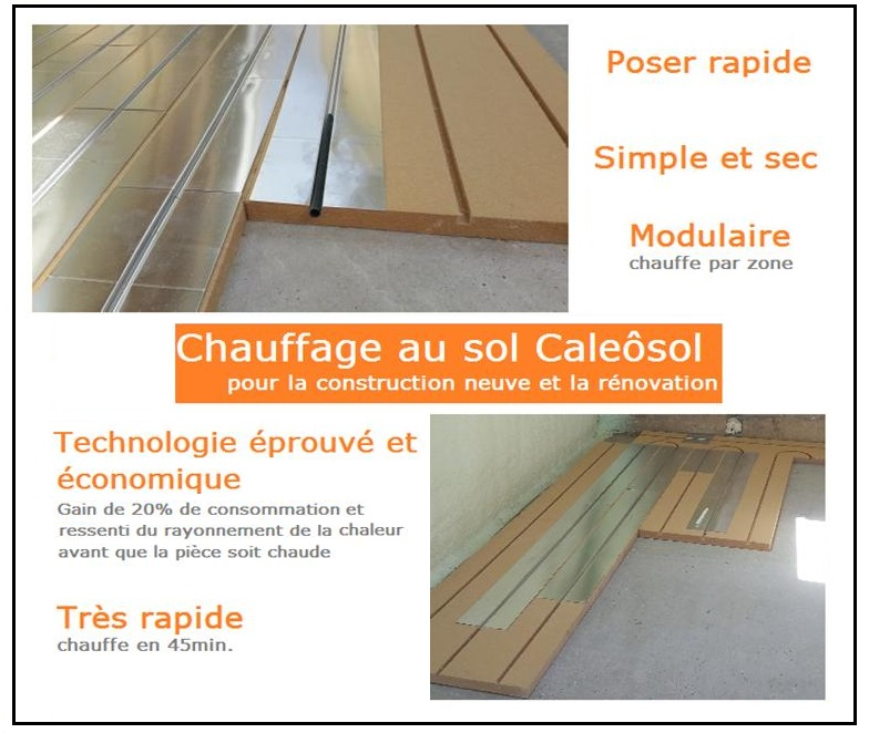 vendredi 12 janvier 2018 de 9h30 11h30 atelier plancher chauffant sec. Black Bedroom Furniture Sets. Home Design Ideas